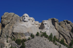 Mount Rushmore near Black Hills Cabins & Motel at Quail's Crossing.