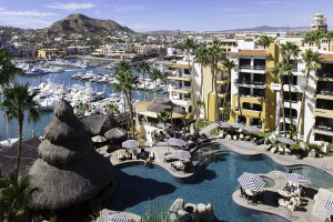 Exterior view of Marina Fiesta Resort and Spa.