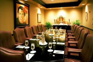 Meeting room at Grand Bohemian Hotel Orlando.