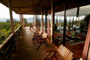 Beautiful Wraparound Deck at Pura Vida Spa & Retreat