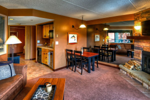 Guest suite at Beaver Run Resort & Conference Center.