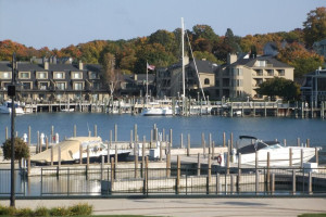 Marina at Charlevoix Inn.