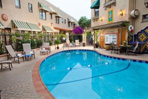 Outdoor pool at El Cordova Hotel.