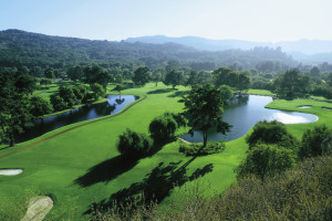 Golf course at Quail Lodge Resort.