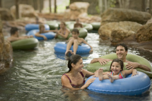 Lazy river at Hyatt Regency Hill Country Resort and Spa.