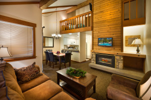 Townhome unit at Granlibakken Resort.
