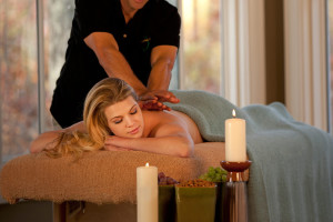 Back massages at Wintergreen Resort.