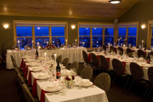 Wedding reception at Surfside on Lake Superior.
