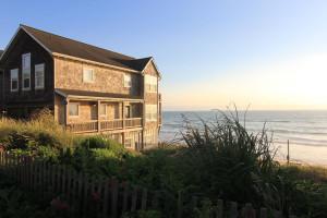 Rental exterior view of Beachfront Vacation Rentals.