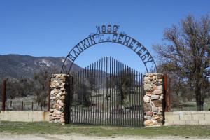 The historic Rankin Cemetery at Rankin Ranch.