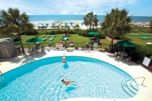 Outdoor pool at Palms Resort.