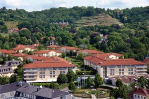 Exterior view of Steigenberger Parkhotel Dresden-Radebeul.