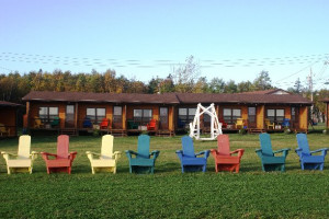 Exterior of Pictou Lodge Resort