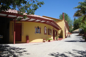 Exterior view of Hacienda Los Andes.