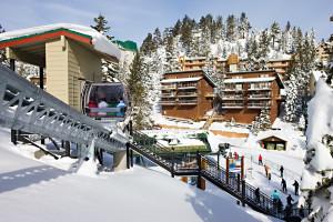 Ski lift at The Ridge Resorts.