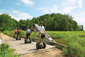 Scenic tours at Kingsmill Resort.