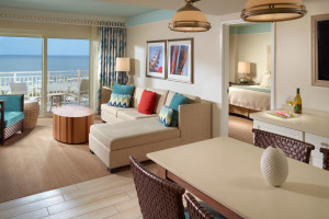 Guest room at Omni Amelia Island Plantation.
