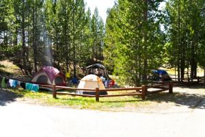 Camping at Sawtelle Mountain Resort.