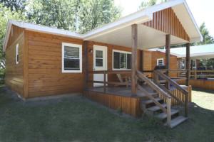 Cabin at Sunny Hill Resort.
