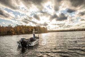 Fishing at Ruttger's Bay Lake Lodge.