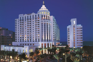Exterior view of Loews Miami Beach Hotel.