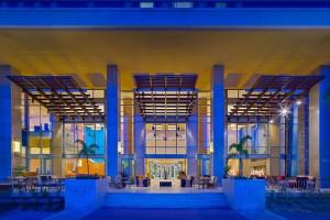 Lobby terrace at Hyatt Regency Trinidad.