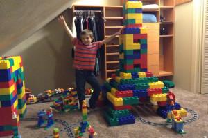 Legos at Blue Mountain Retreat.