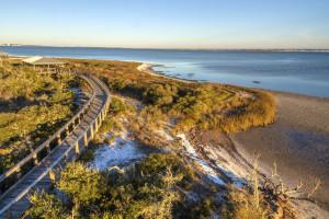 The beach at Perdido Key Resort Management.