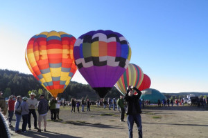 Hot air balloons at Sunetha Property Management.