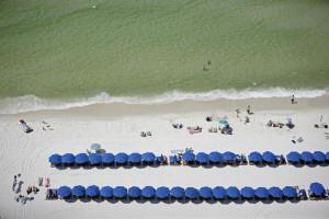The beach at Calypso Resort & Spa.