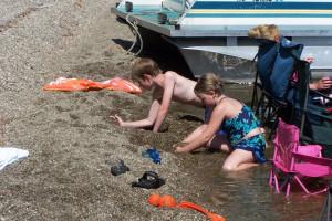 Beach fun at Wilsons on Moosehead Lake.