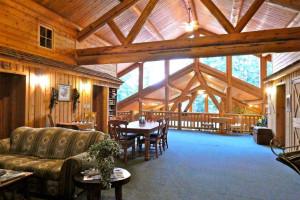 Loft view at Western Pleasure Guest Ranch.