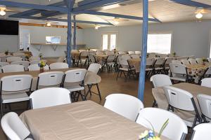 Group room at Cedar Lodge Texas.