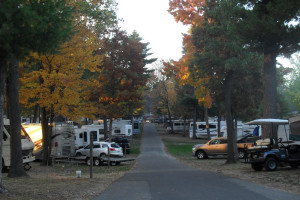 RV campground at Warrens Lodging.