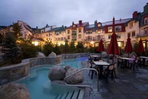 Outdoor pool at Homewood Suites.