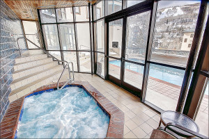 Rental pool at Beaver Creek Rentals by Owner.