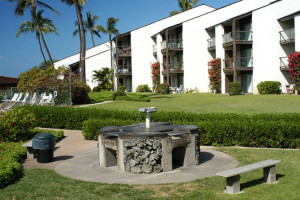 BBQ grill at Hale Kamaole Condos.