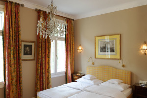 Guest room at Hotel Splendid.