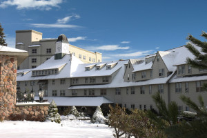 Winter time at The Inn at Pocono Manor.