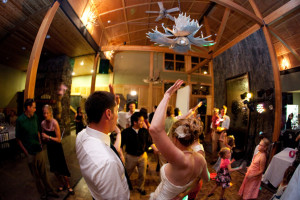Wedding at Eagle Ridge at Lutsen Mountains.