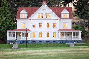 Exterior view of Cavallo Point Lodge.