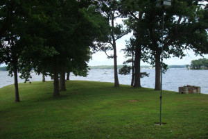 Lake view at Mallard Point Resort.