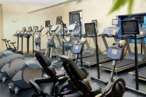 Fitness room at Four Seasons Resort Whistler.