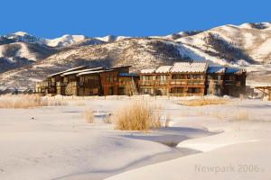 Exterior view of Newpark Resort.