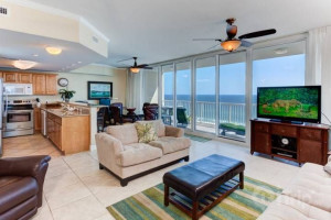 Rental interior at iTrip - Gulf Shores.