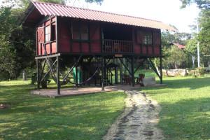 Exterior view of Cabanas Alinahui.
