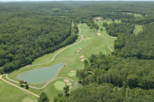 Golf course at YMCA Trout Lodge & Camp Lakewood.