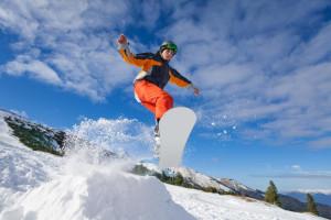 Snowboarding near Lodge & Spa At Cordillera