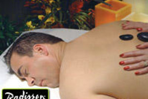 Hot stone massage at Radisson Fort McDowell Resort