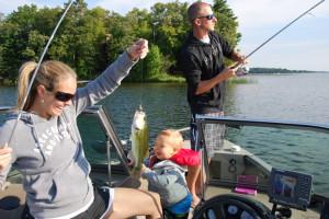Fishing at Quarterdeck Resort.